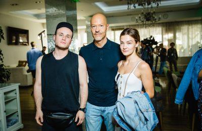 «Кинотавр-2018»: Федор Бондарчук, Никита Кукушкин и Анна Назарова на завтраке в Сочи