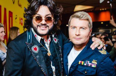 Филипп Киркоров и Николай Басков на премьере фильма
