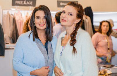 Екатерина Стриженова, Эвелина Бледанс и другие посетили выставку моды