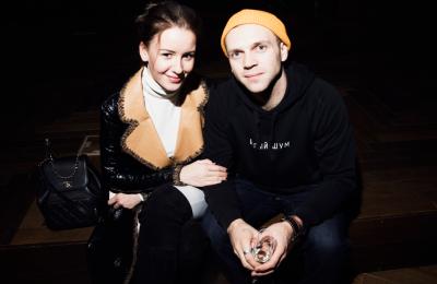 Ирина Старшенбаум и Артем Шевченко на премьере фильма «КОЛЕТТ»