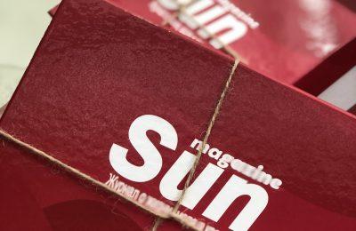 Новогодний розыгрыш бьюти-бокса Sun magazine