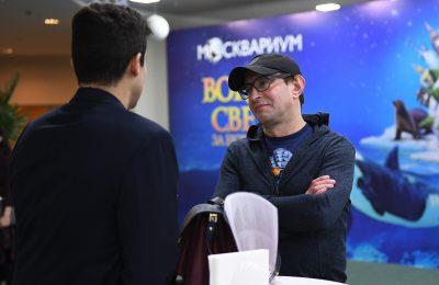 Константин Хабенский побывал на премьере мюзикла«Вокруг света за Новый год»