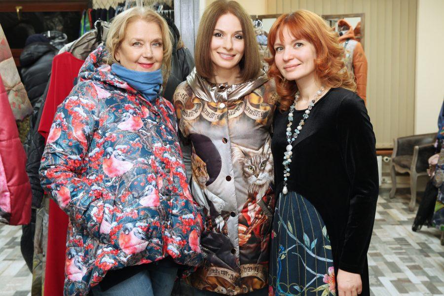 Ирина Алфёрова подготовилась к зиме