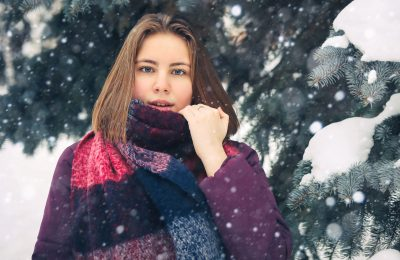 Как зимой выглядеть стильно