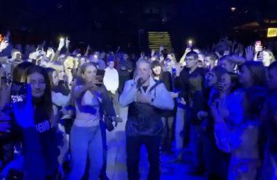 Концерт рэпера Verbee закончился давкой
